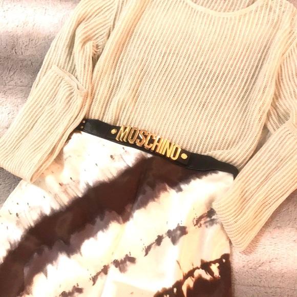 2 FOR $30. Batik Print Satin Slip Skirt